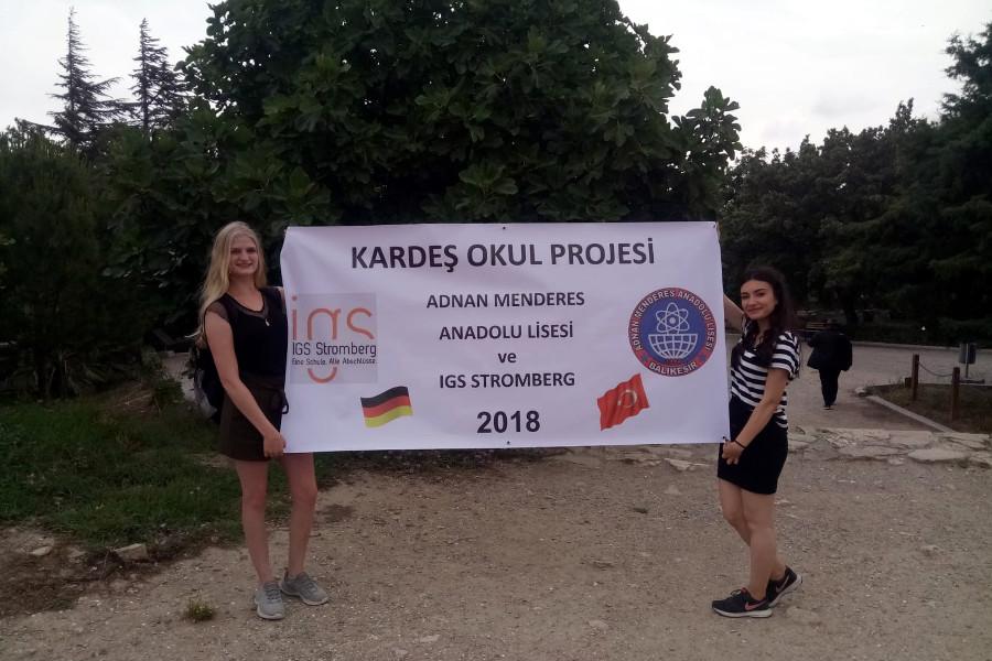 Partnerschaft mit türkischem Gymnasium in Balıkesir | Integrierte ...